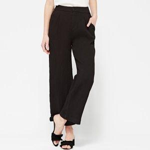 Lacausa Azalea lightweight trousers black NWOT 6